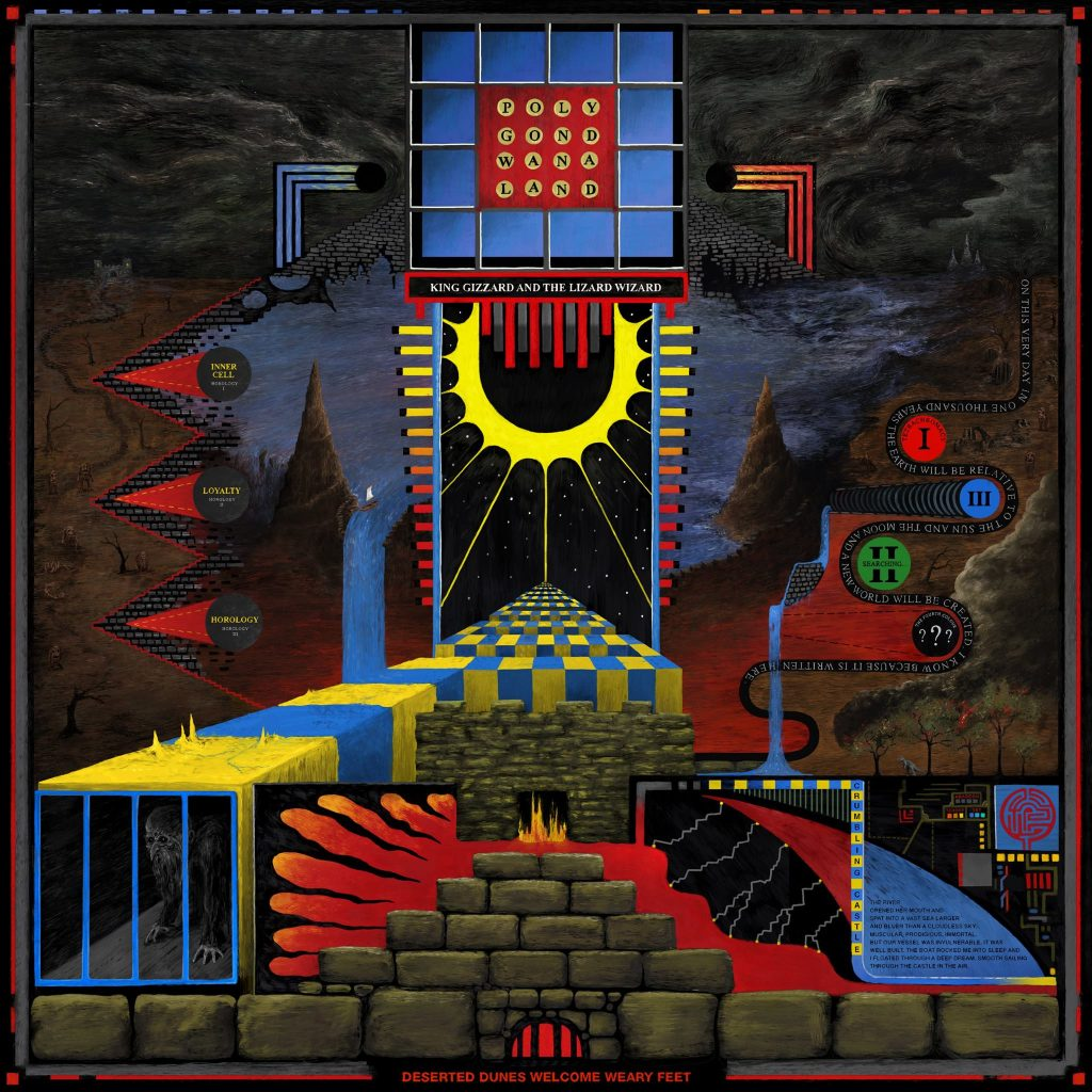 Polygondwanaland, l'album presque posthume de King Gizzard and the Lizard Wizzard.