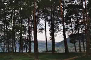 Premier réveil à Voss, en Norvège, vers 6 heures.